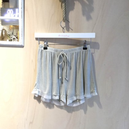Short Soft grey