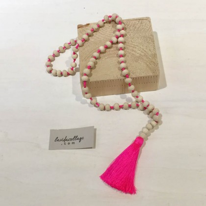 Indie necklace rosa